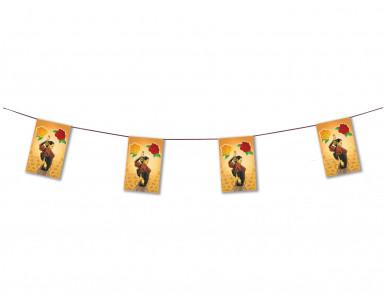 Guirlande papier flamenco 4 m