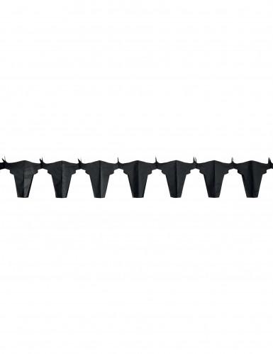 Guirlande papier ignifugé taureau noir4.5 m