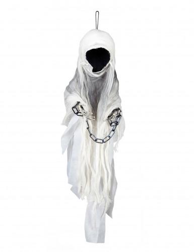 Décoration squelette faucheuse enchainé 100 cm Halloween