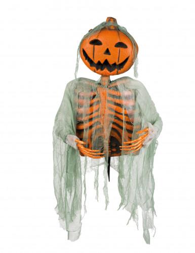 Décoration squelette citrouille 52 cm Halloween-1