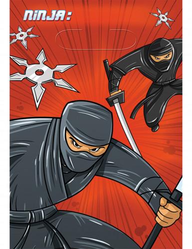 8 Sacs cadeaux Ninja