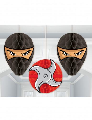 3 Suspensions alvéolées Ninja