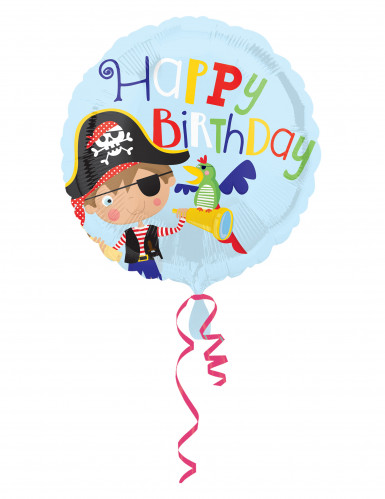 Ballon aluminium Petit moussaillon Pirate 43 cm