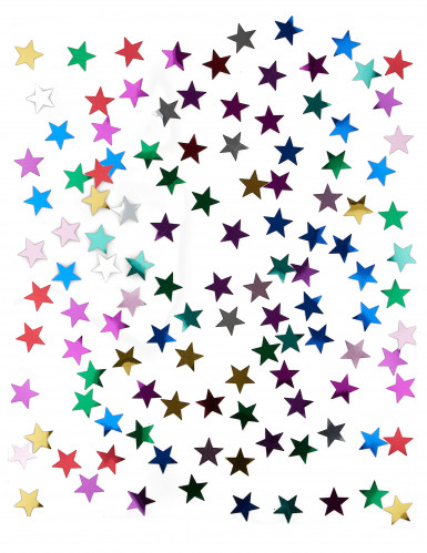 Confettis étoiles multicolores 14 g-1