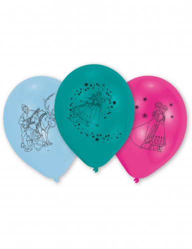 10 Ballons latex La Reine des Neiges™