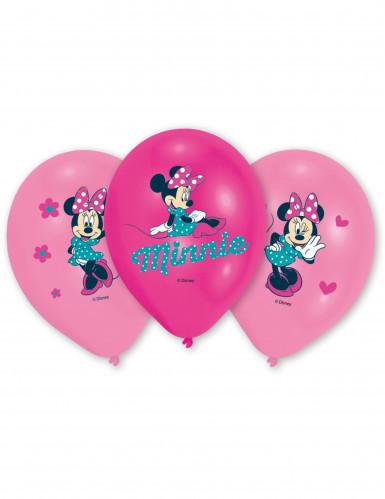 6 Ballons en latex Minnie™