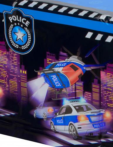 Nappe en plastique Police 120 x 180 cm-1