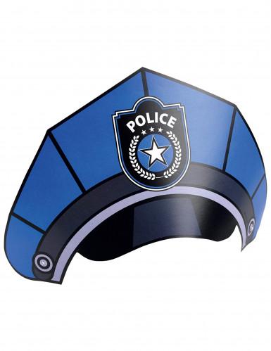 8 Chapeaux de fête Police