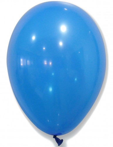 50 Ballons bleus