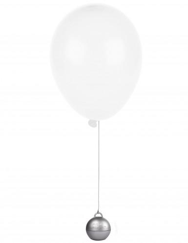 Poids ballon hélium argent-1