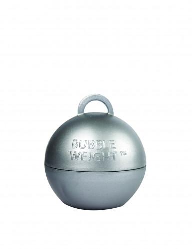 Poids ballon hélium argent-2