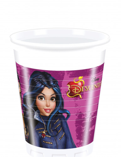 8 Gobelets en plastique Descendants™ 20 cl