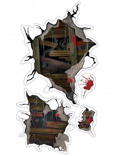 Autocollants muraux monstres d'Halloween
