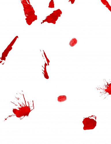 Autocollants muraux sanglants Halloween-1