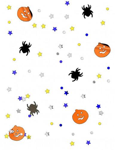 Confettis citrouille et araignée Halloween