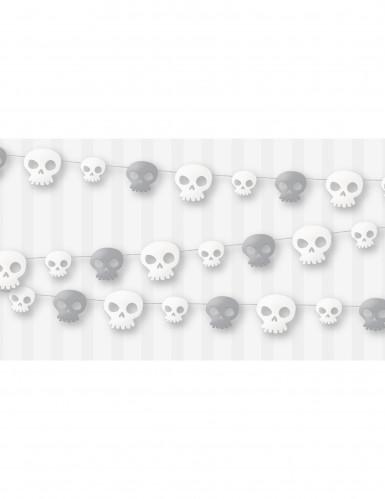 Guirlande têtes de mort -1