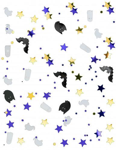 Confettis fantôme et chauve souris Halloween