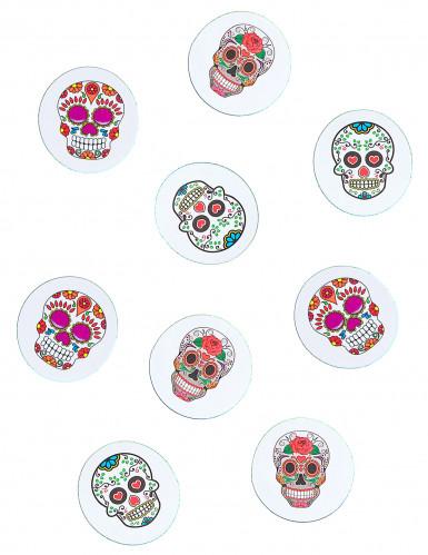 Confettis de table papier Dia de los muertos