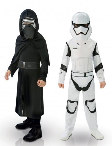 Pack déguisement Kylo Ren &  StormTrooper enfant - Star Wars VII™
