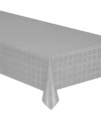 Nappe en rouleau papier damassé gris 6 mètres