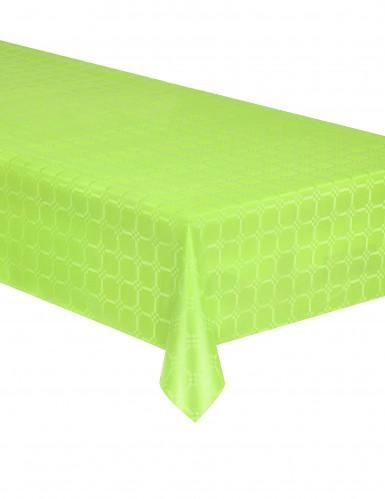 Nappe en rouleau papier damassé vert anis