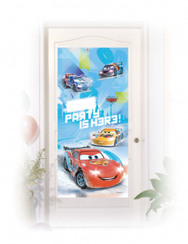 Décoration de porte Cars Ice Racers™ 76 x 150 cm