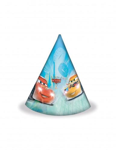 6 Chapeaux de fête Cars Ice Racers™
