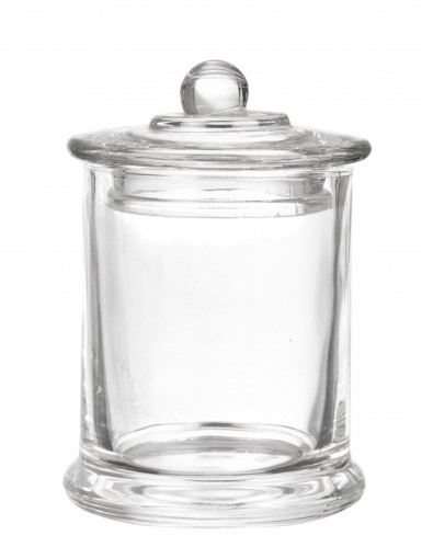 Bonbonnière en verre 7,3 x 11,3 cm