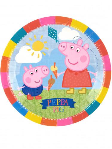 8 Assiettes en carton Peppa Pig™