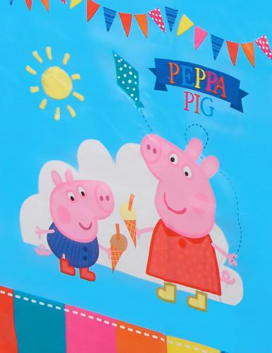 Nappe en plastique Peppa Pig™ 120 x 180 cm-1