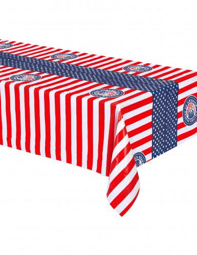 Nappe en plastique USA 130 x 180 cm