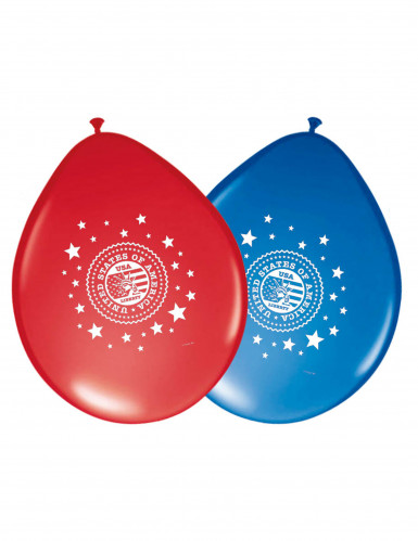 8 Ballons en latex USA