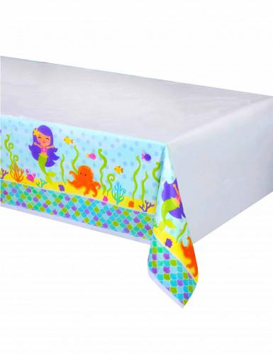 Nappe en plastique Sirène - 137 x 259 cm