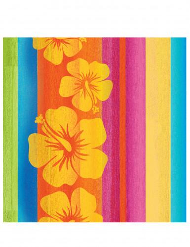 16 Serviettes en papier Hawaï - 33 x 33 cm