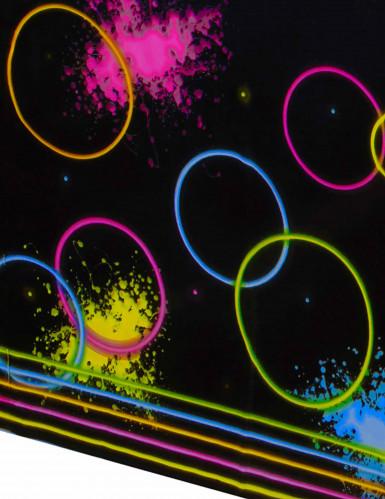 Nappe en plastique Fluo Party 140 x 260 cm-1