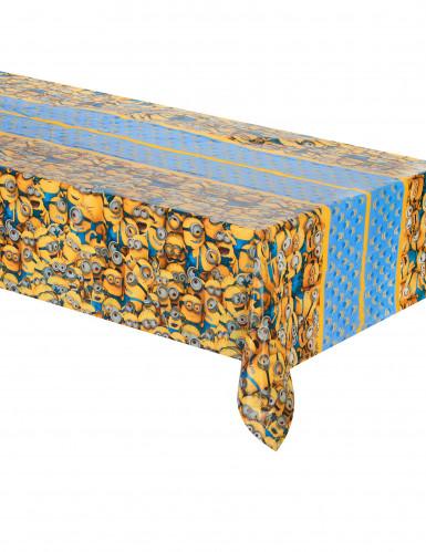Nappe en plastique lovely Minions™ 120 x 180 cm