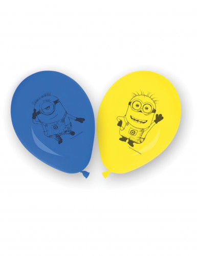8 Ballons en latex lovely Minions™