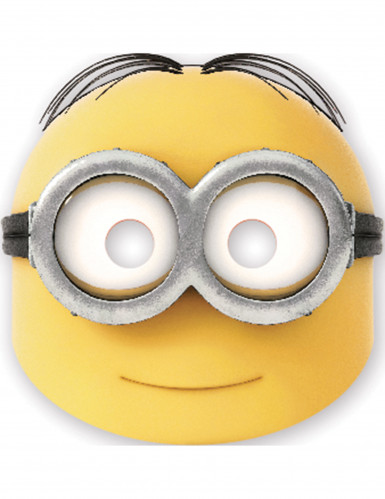 6 Masques en carton Dave lovely Minions™