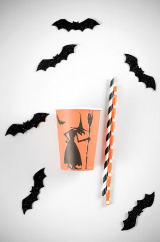 10 Gobelets en carton sorcière Halloween-1