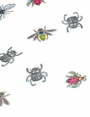 200 Confettis en papier insectes chic