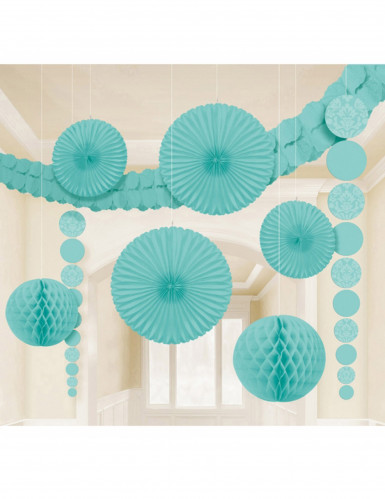 kit de décoration vert menthe