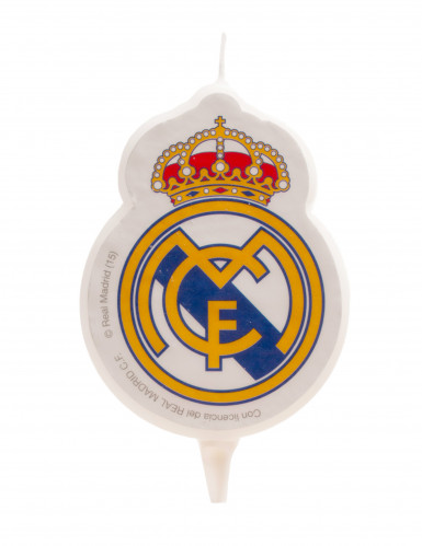Bougie d'anniversaire Real Madrid™ 