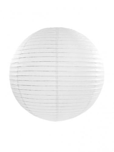Lanterne japonaise blanche 35 cm