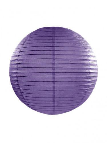 Lanterne japonaise violette 35 cm