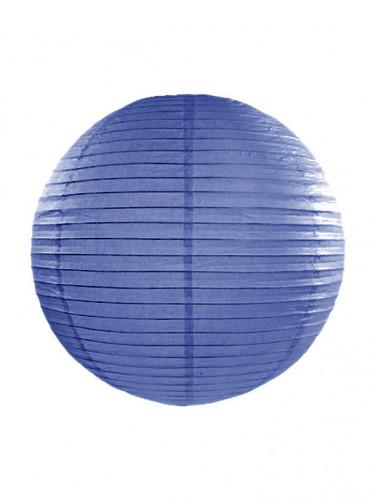 Lanterne japonaise bleu roi 35 cm