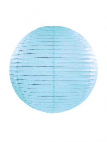 Lanterne japonaise bleu ciel 35 cm