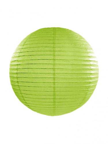 Lanterne japonaise vert pomme 35 cm