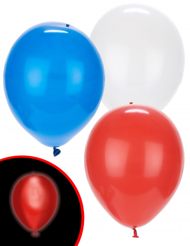 5 Ballons LED tricolores Illooms ®