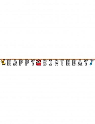 Guirlande articulée Happy Birthday Bricoleur 2,59 m-1