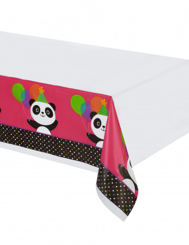 Nappe en plastique Panda Party 137 x 260 cm